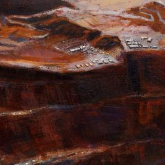 Detail of Spoiled Landscapes - Mining by Baorong Liang