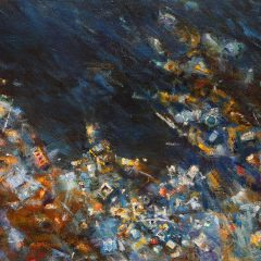Detail of Spoiled Landscapes - Ocean by Baorong Liang