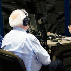 Coreen Callister interviewing pain experts