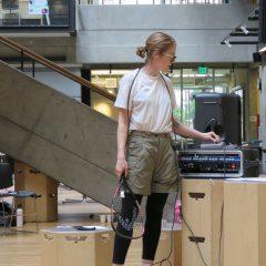 Racquetball Score @ Design Trouble Symposium by Heidi Biggs