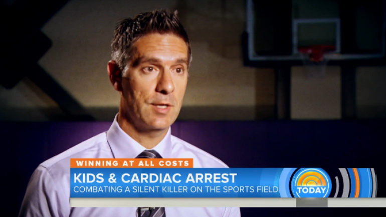 Dr. Jon Drezner on the Today Show Discussing Sudden Cardiac Death in Student Athletes
