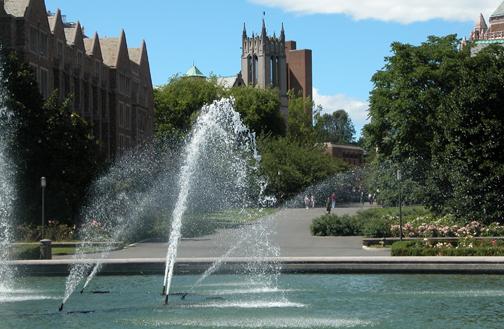 uw fountain
