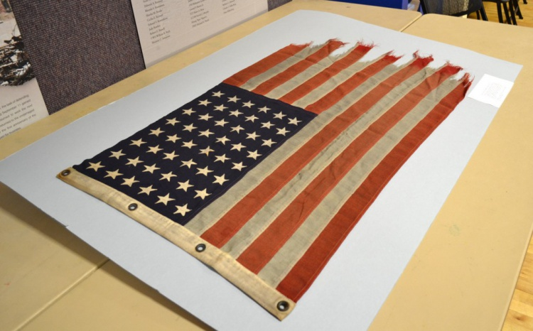USS Samuel Roberts Ensign Flag