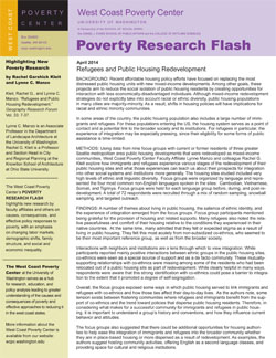 research paper poverty