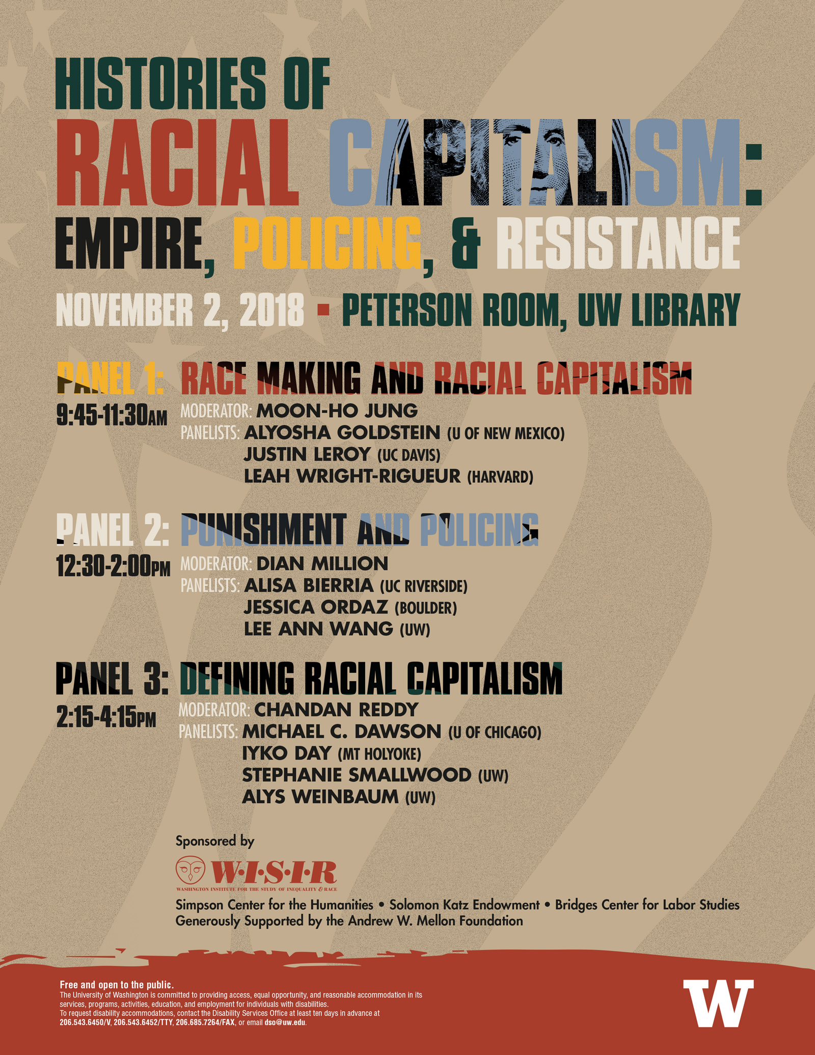 Histories of Racial Capitalism: Empire, Policing, & Resistance